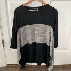 New THML Oversized Knit Sweater Mixed Media Medium